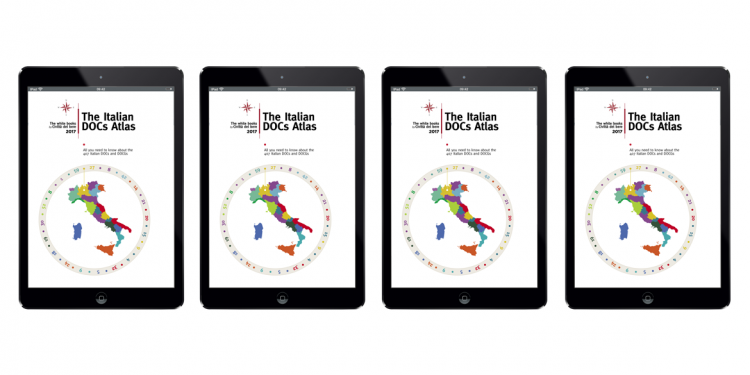 The first Italian DOCs Atlas