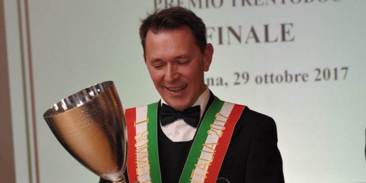 Roberto Anesi, Best Italian Sommelier AIS 2017
